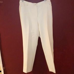 NWT Talbots High Waisted Tailored ankle Pants. 14W